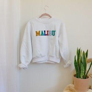 NWT! Brand New Cozy Malibu Crop Sweater!